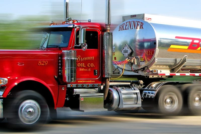 Brenner Oil truck
